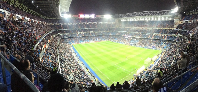 Santiago Bernabéu Stadium Secção 516 Fila 8 Lugar 21