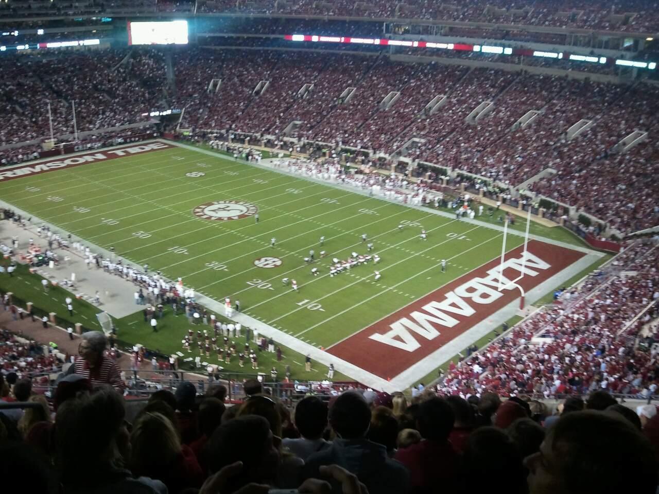 Bryant-Denny Stadium Secção NN-12