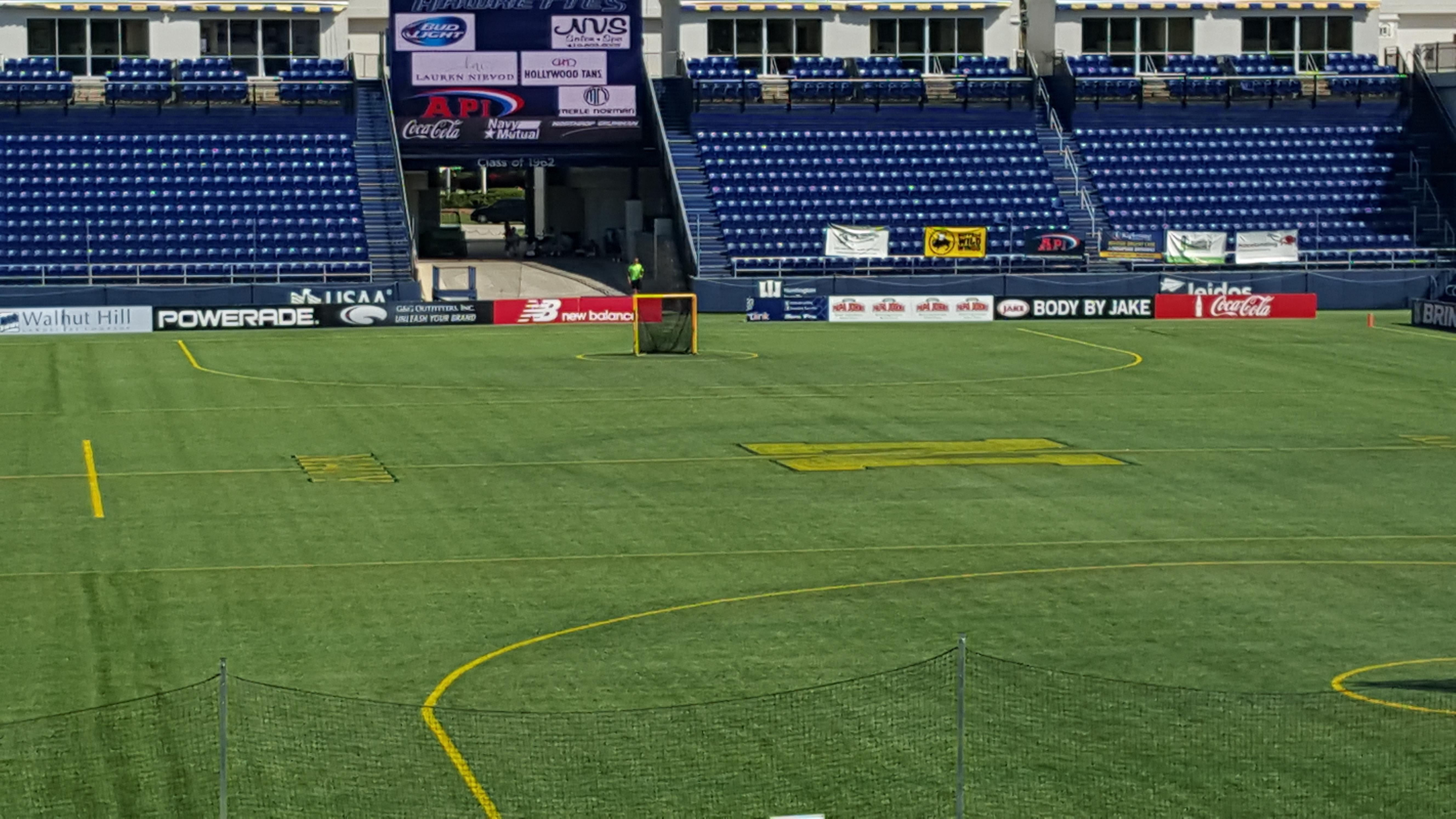 Navy-Marine Corps Memorial Stadium Secção C Fila 5 Lugar 35