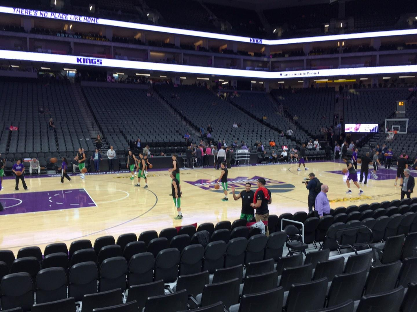 Golden 1 Center Secção 121 Fila Cc Lugar 9