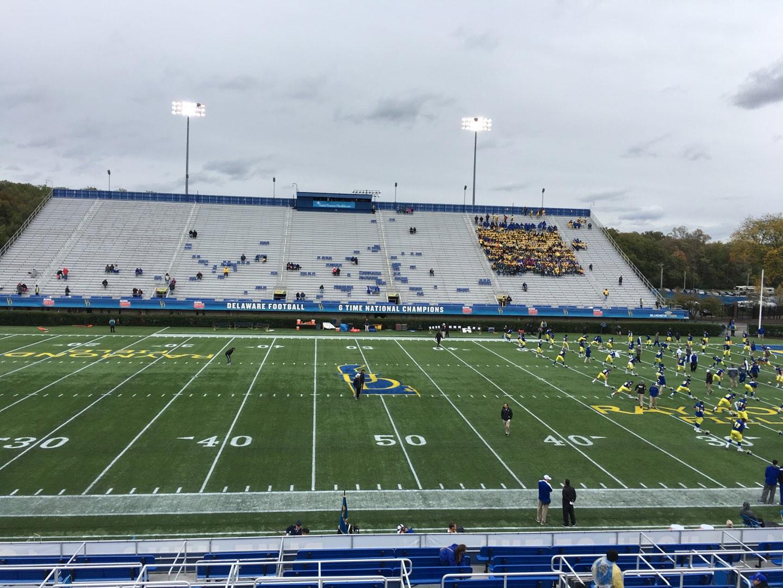 Delaware Stadium Secção D Fila R Lugar 23