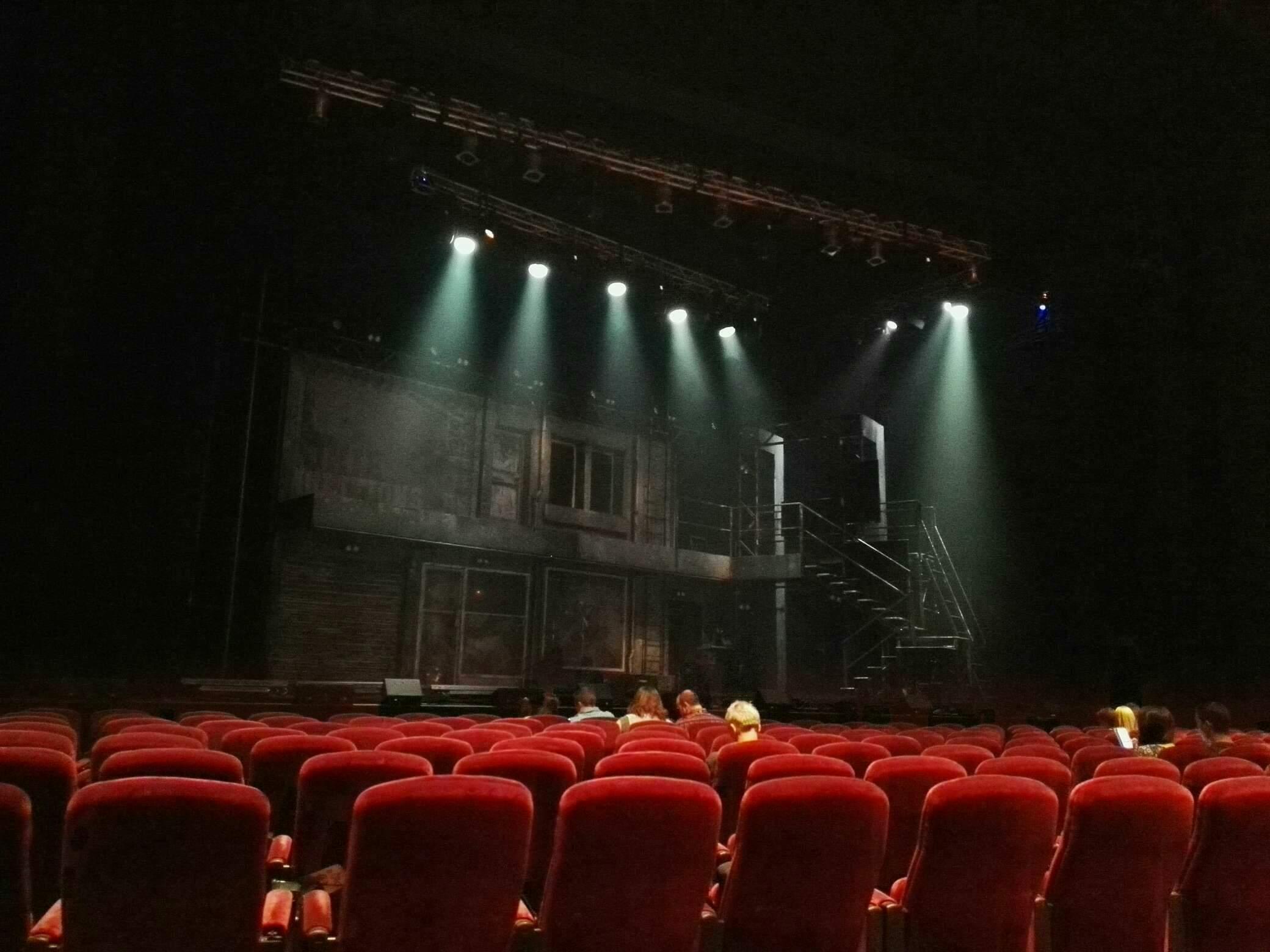 Crown Theatre (Perth) Secção Lounge Fila E Lugar 16