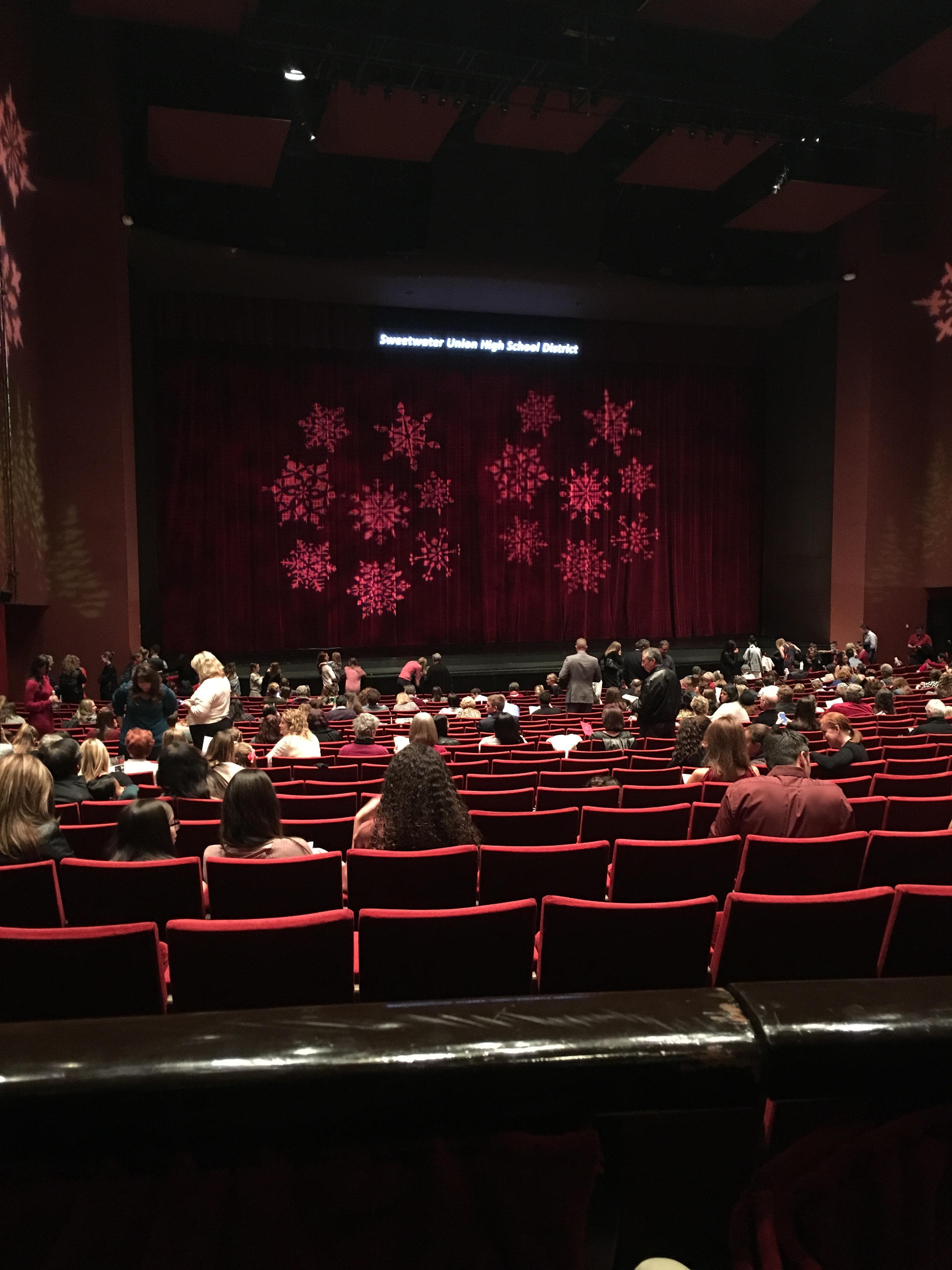 San Diego Civic Theatre Secção DRESL4 Fila A Lugar 29
