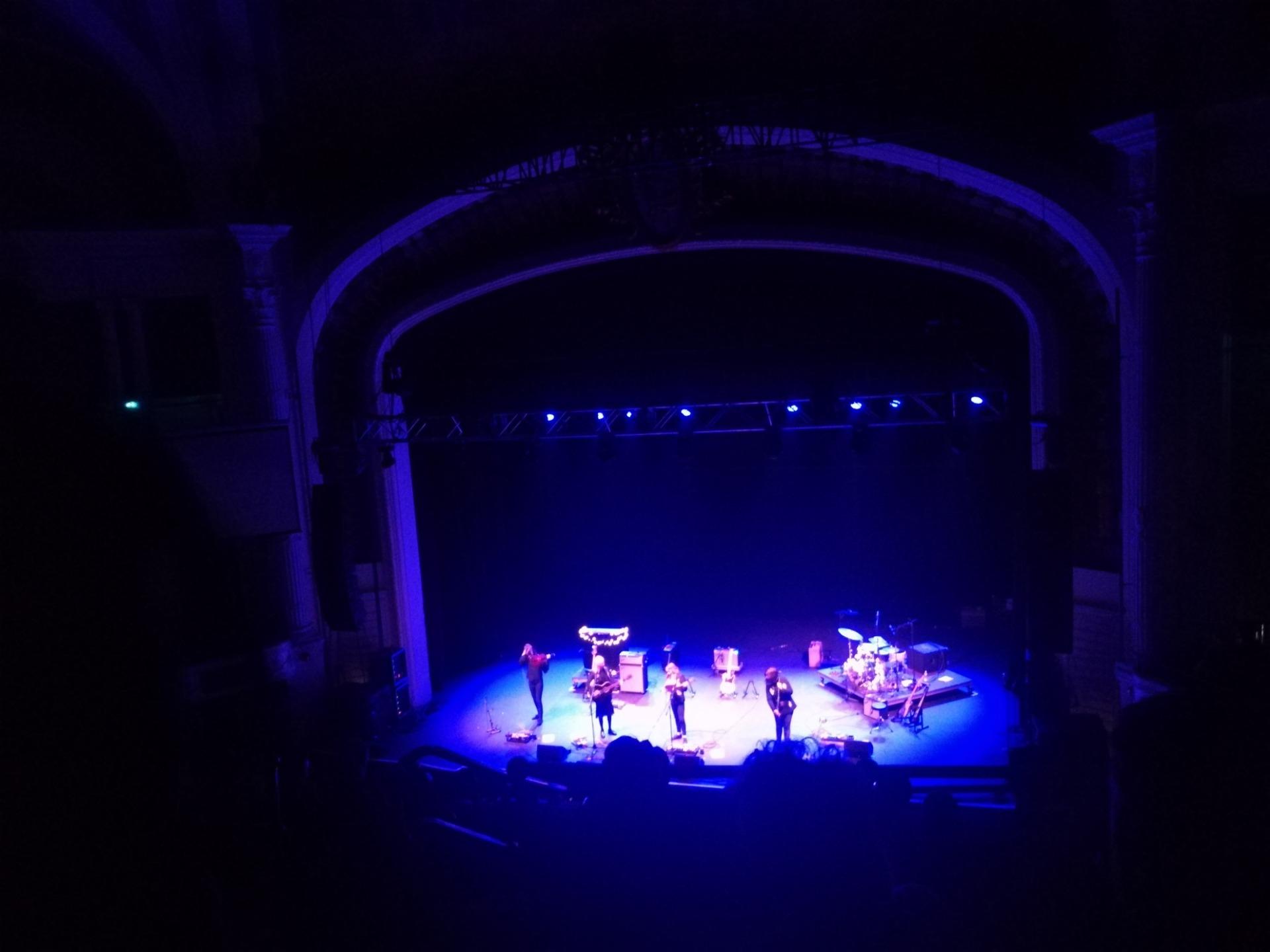 Orpheum Theatre (Boston) Secção Balcony RC Fila H Lugar 108