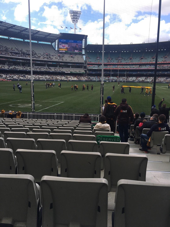 Melbourne Cricket Ground Secção M32 Fila O Lugar 2