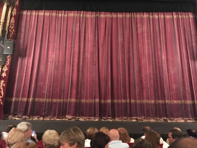 Teatro Liceo Secção Main Fila 6 Lugar 8