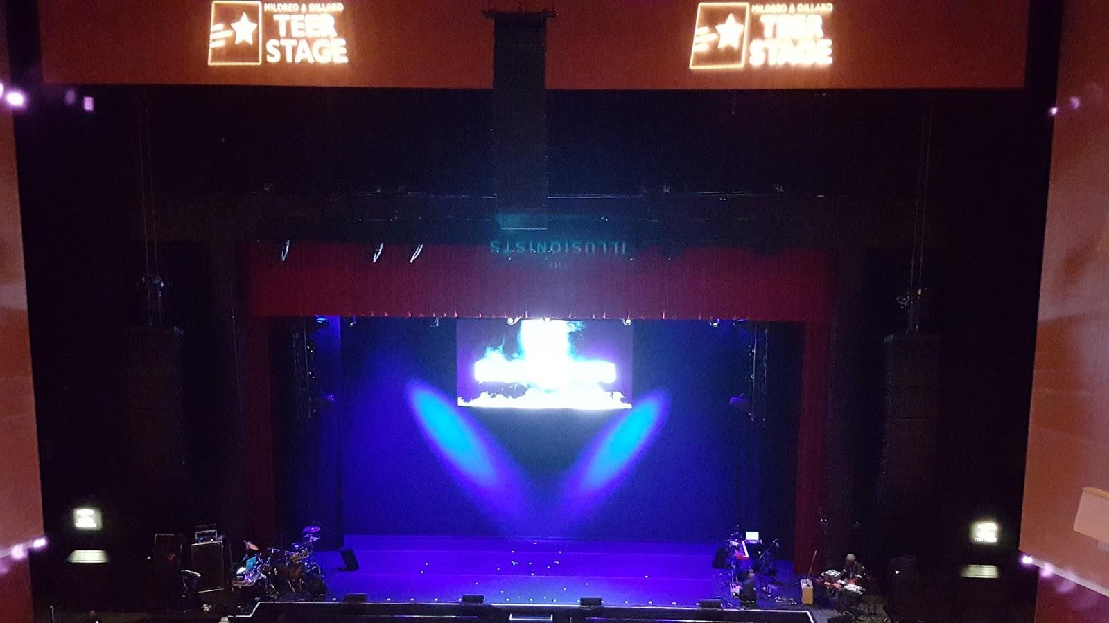 Durham Performing Arts Center Secção Balcony 9 Fila A Lugar 110