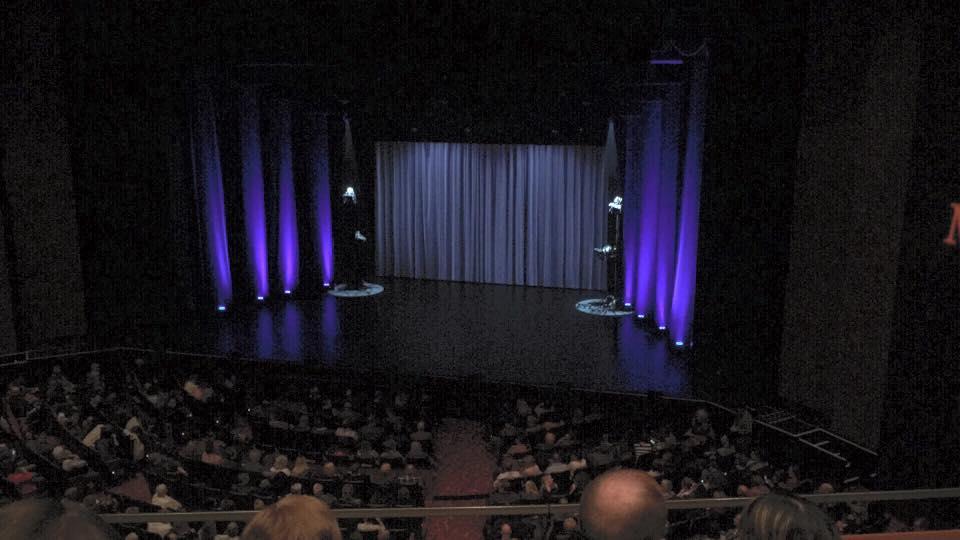 Théâtre du Casino Lac-Leamy Secção Balcony Fila B Lugar 20