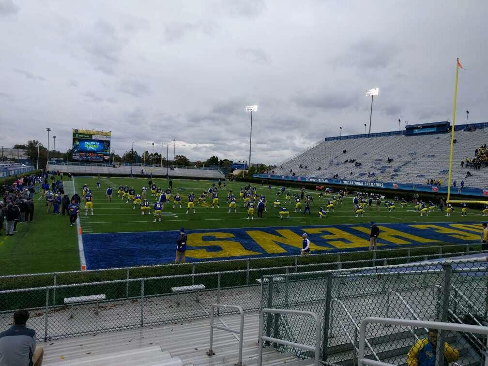 Delaware Stadium Secção hh Fila l Lugar 4