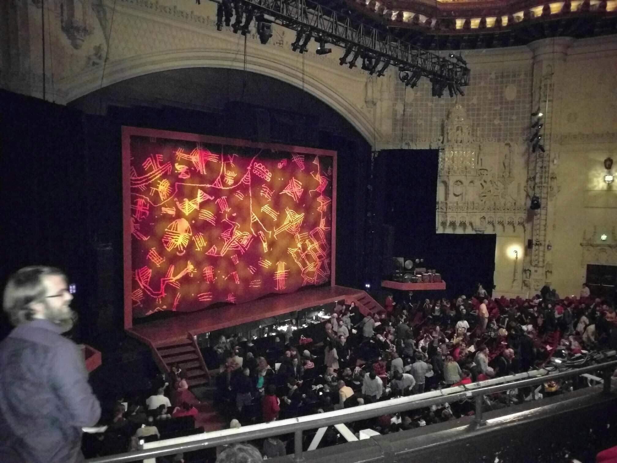 Orpheum Theatre (San Francisco) Secção Mezzanine L Fila d Lugar 21