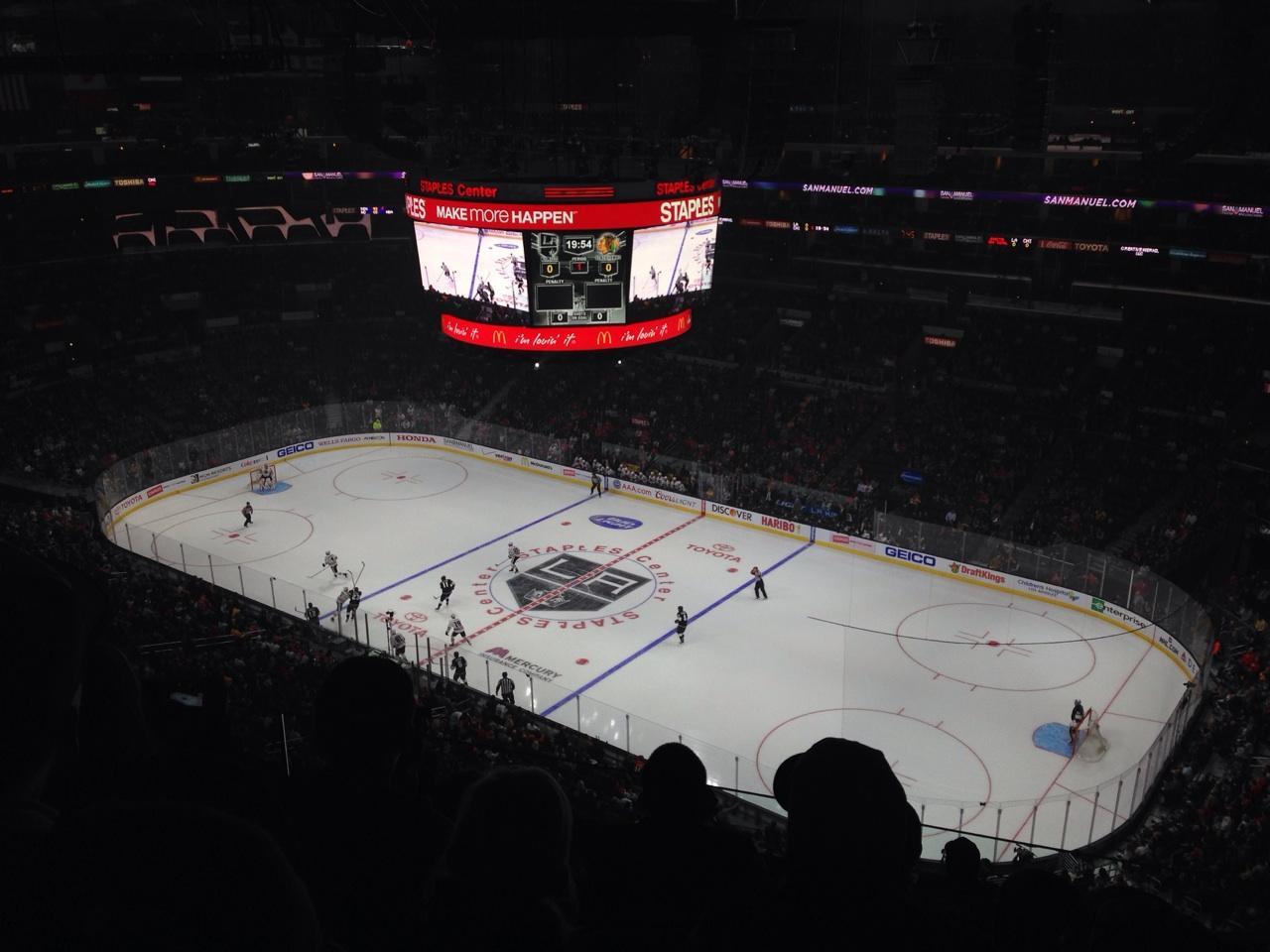 Staples Center Secção 315 Fila 9 Lugar 8