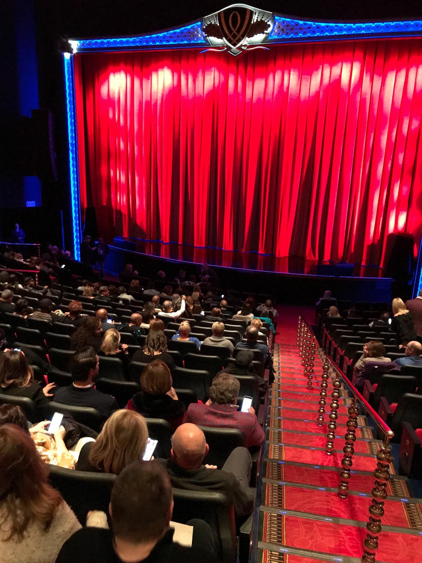 Encore Theatre At Wynn Secção Orch Center Fila S Lugar 101