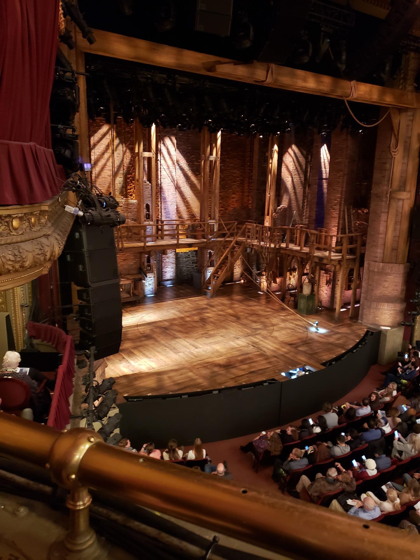 CIBC Theatre Secção Mezzanine L Fila A Lugar 15