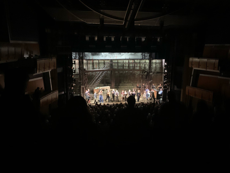 Ahmanson Theatre Secção Mezzanine Fila G Lugar 32