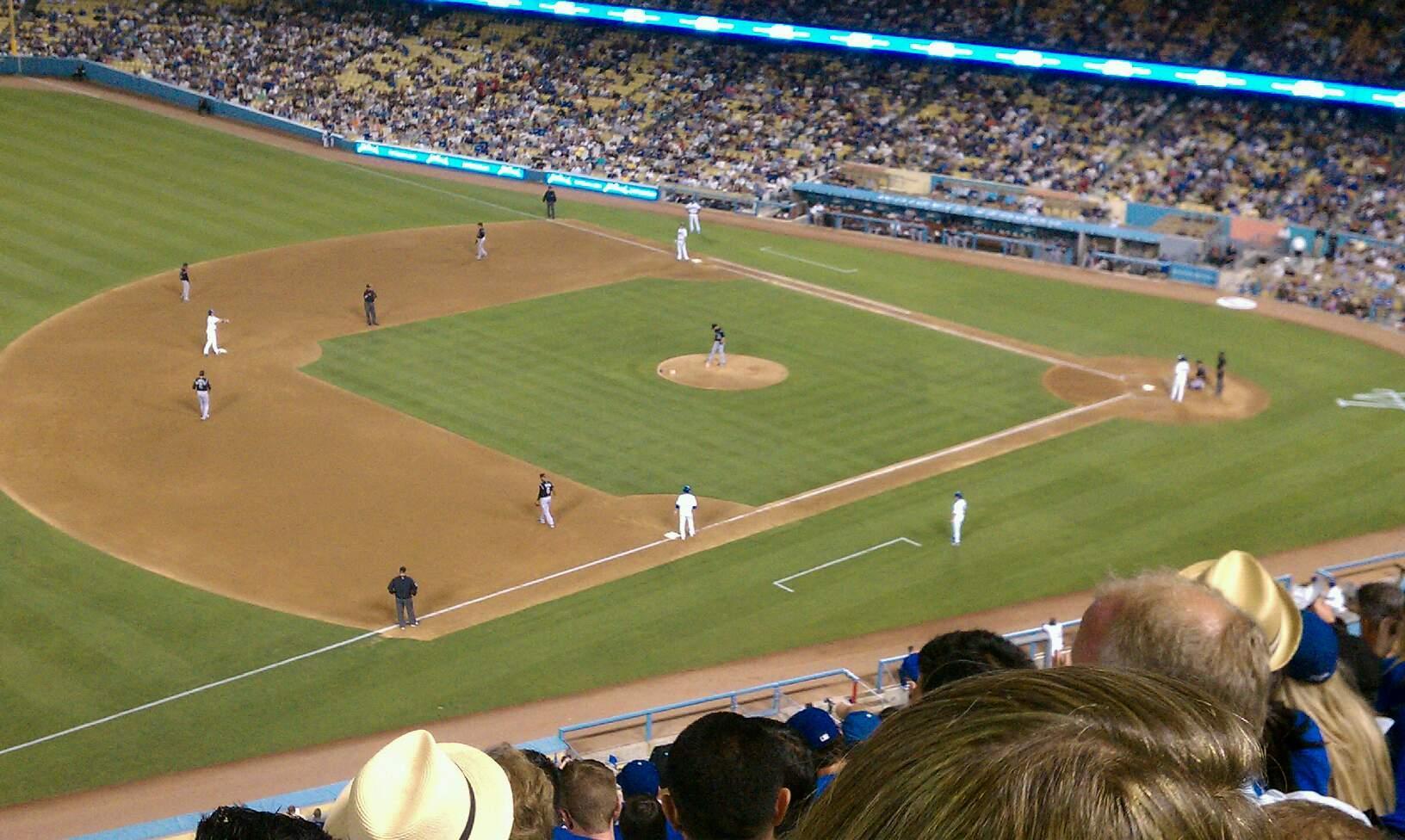 Dodger Stadium Secção 31rs Fila n Lugar 11
