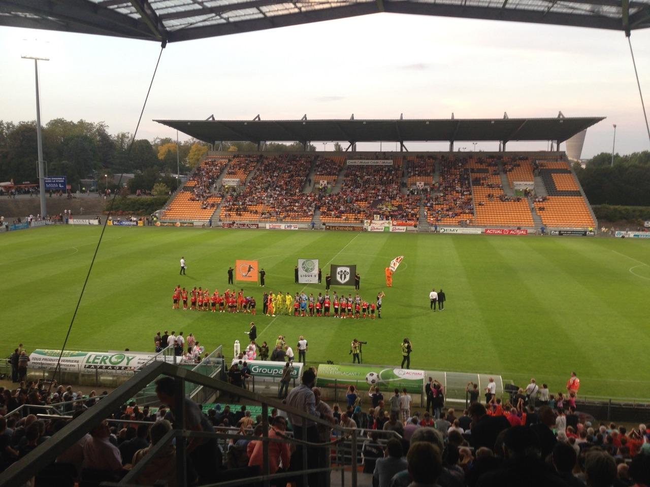 Stade Francis Le Basser Secção Loge Fila 4