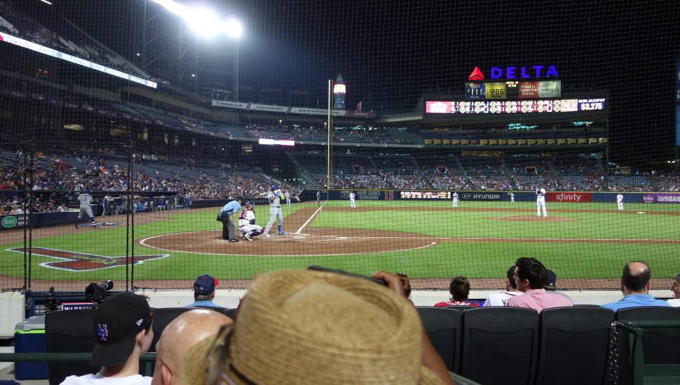 Turner Field,  Secção <strong>Chaddy End</strong>, Fila <strong>D</strong>, Lugar <strong>75</strong>