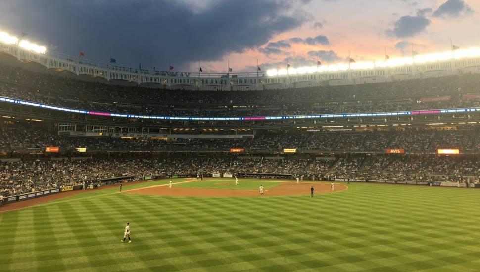 Yankee Stadium,  Secção <strong>GA</strong>
