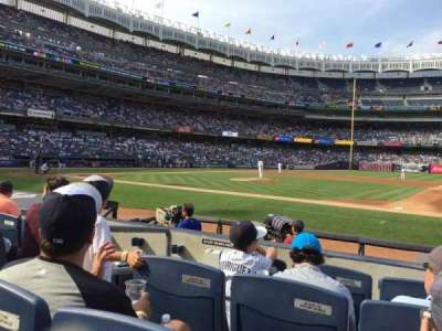 Yankee Stadium secção 015A