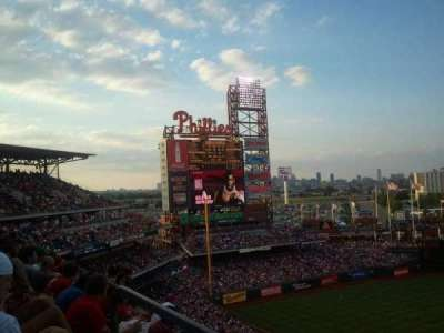Citizens Bank Park secção 424