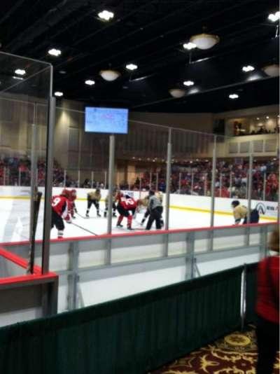 Akins Ford Arena at The Classic Center, secção: 103, fila: B, lugar: 6
