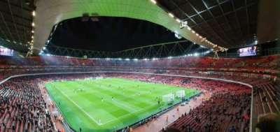 Emirates Stadium, secção: 106, fila: 2, lugar: 417