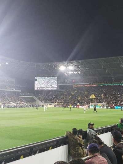 Banc of California Stadium, secção: 117, fila: C, lugar: 24