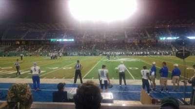 Yulman Stadium, secção: 121, fila: C, lugar: 6