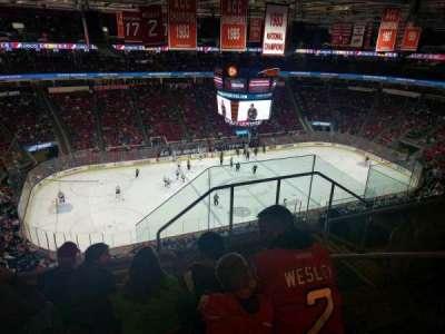 PNC Arena, secção: 326, fila: F, lugar: 3