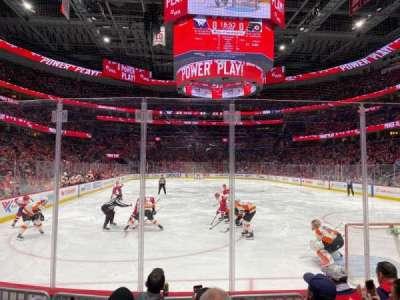 Capital One Arena, secção: 105, fila: E, lugar: 2