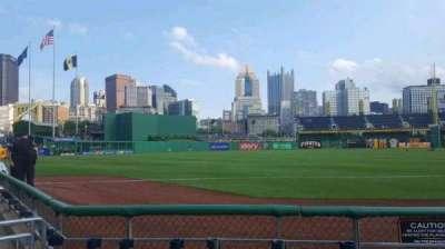 PNC Park, secção: 29, fila: D, lugar: 1