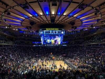 Madison Square Garden secção 112