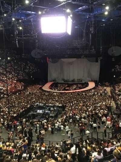 AccorHotels Arena, secção: Balcon A, fila: Rang 2, lugar: 21