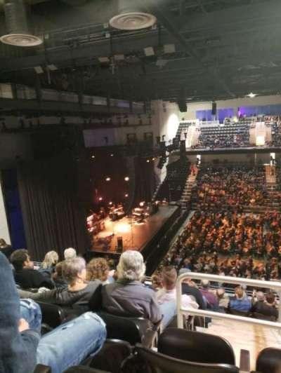UMBC Event Center, secção: 205, fila: K, lugar: 19