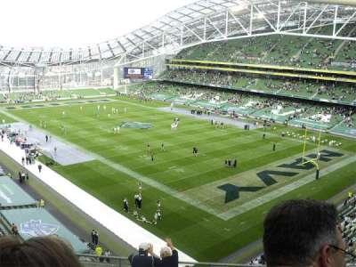 Aviva Stadium secção 519