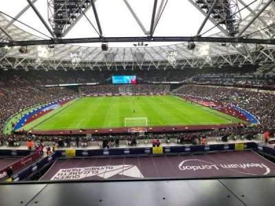 London Stadium secção 250