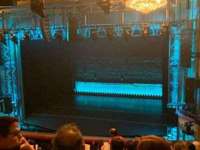 Broadhurst Theatre secção Mezzanine R