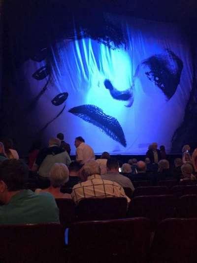Palace Theatre (Broadway), secção: Orchestra, fila: K, lugar: 115