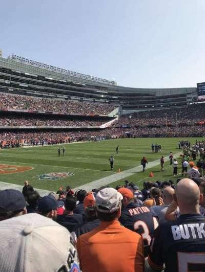 Soldier Field, secção: 146, fila: 11, lugar: 8