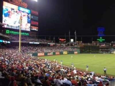 Citizens Bank Park secção 134