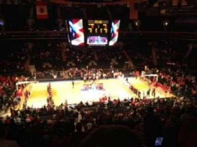 Madison Square Garden, secção: 210, fila: 7, lugar: 17