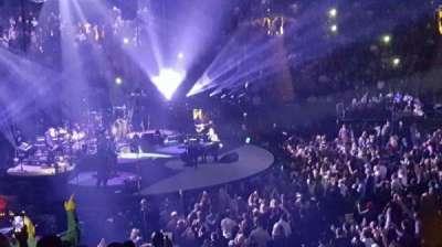 Madison Square Garden, secção: 116, fila: 17, lugar: 14