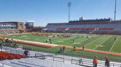 Doyt Perry Stadium, secção: 8, fila: 25, lugar: 18