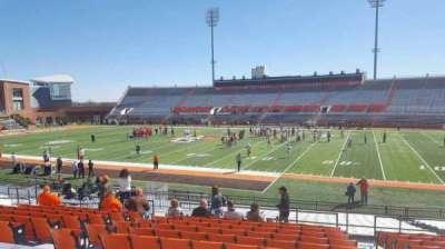 Doyt Perry Stadium, secção: 11, fila: 25, lugar: 28