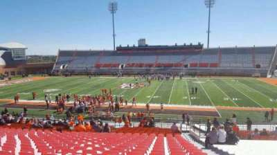 Doyt Perry Stadium, secção: 13, fila: 38, lugar: 38