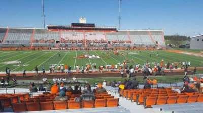 Doyt Perry Stadium, secção: 14, fila: 27, lugar: 4