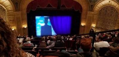 Detroit Opera House, secção: Mezzanine 3, fila: G, lugar: 105