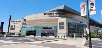 Rocket Mortgage FieldHouse, secção: South Entrance