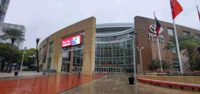 Toyota Center, secção: La Branch Street Entrance