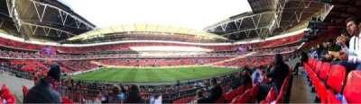Wembley Stadium secção 124